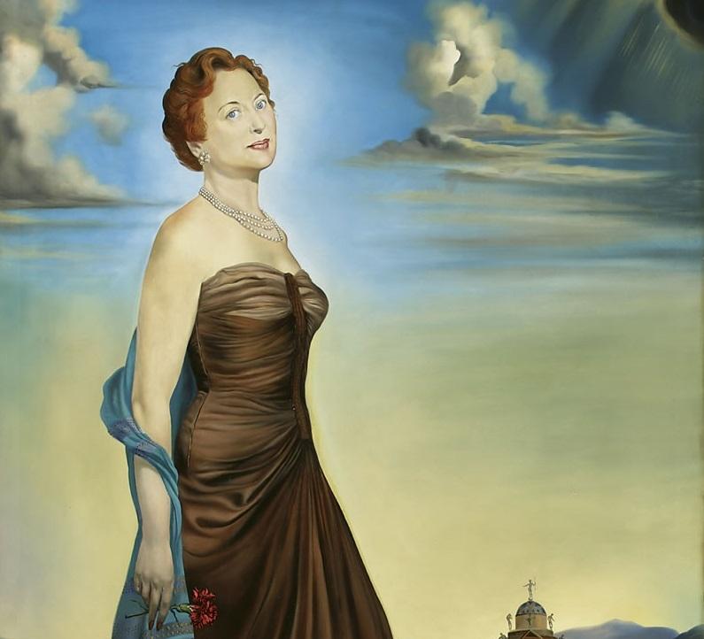 """Портрет миссис Ривз"", Сальвадор Дали, 1954"