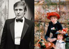 Дональд Трамп и копии Ренуара