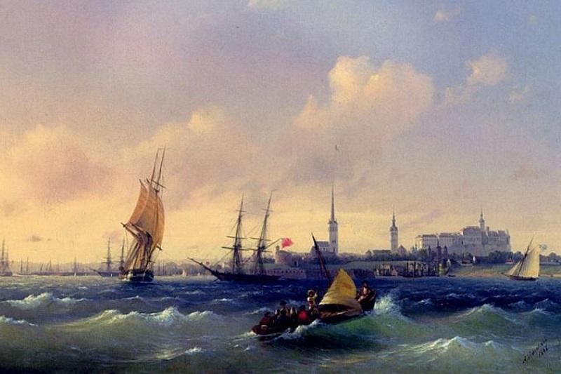Море (Вид на Ревель), Иван Айвазовский, 1845