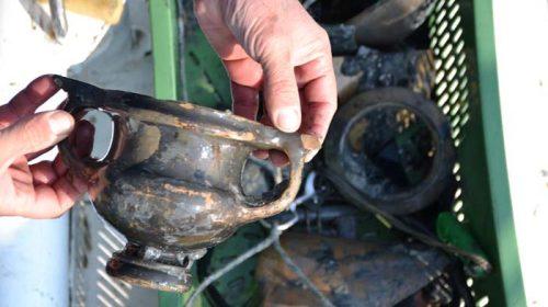 Артефакты, найденные во время строительства Крымского моста