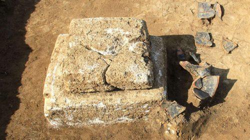 Раскопки кургана Госпитальный в Керчи