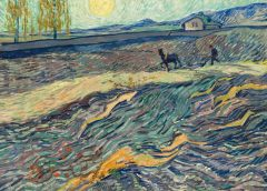 """Винсент Ван Гог """"Вспаханное поле и пахарь"""" (Laboureur dans un champ), 1889"""