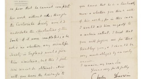 """""""Происхождение видов"""" с пометками рукой Чарльза Дарвина"""