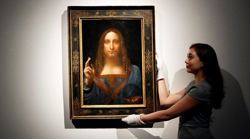 """Спаситель мира"" Леонардо да Винчи"