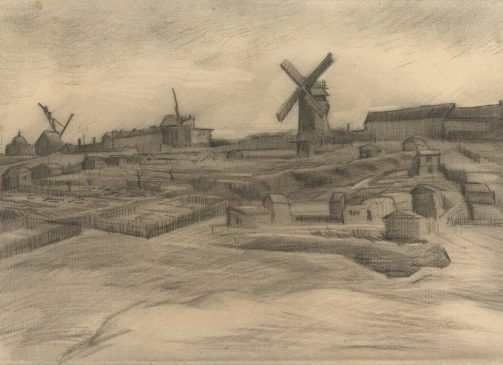 """Винсент Ван Гог, """"Холм Монмартр, 1886"""