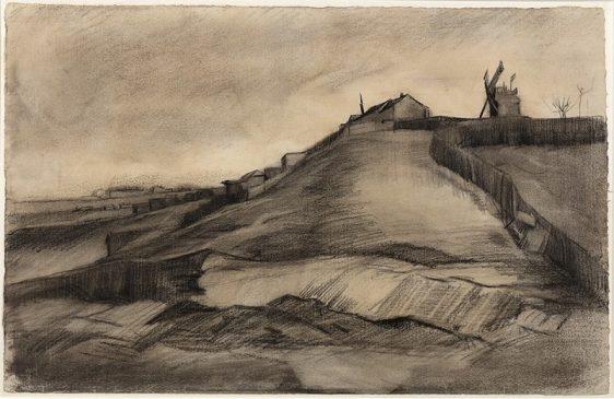 """Винсент Ван Гог, """"Холм Монмартр с каменоломней"""" (1886)"""