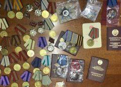 В Россию не дали вывезти 73 награды времен СССР