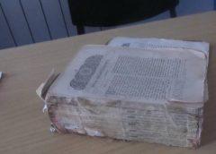 В Молдову не дали вывезти старинную Библию