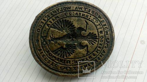 Очень большая гербовая печать