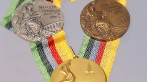 Медали для победителей Игр XXII Олимпиады Москва-1980