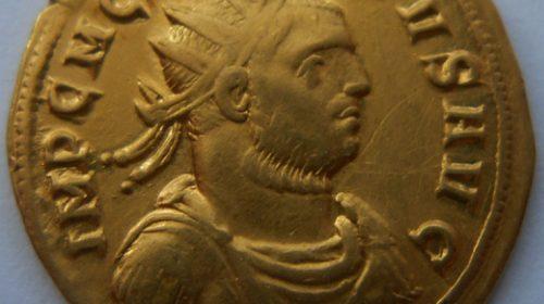Бинио двойной ауреус - Марк Клавдий Тацит (275-276)