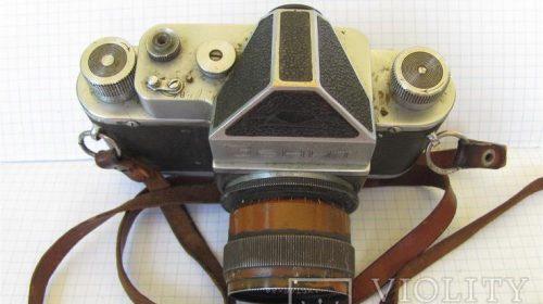 "Фотоаппарат ""Зенит"" 50-х годов, номер 0006"