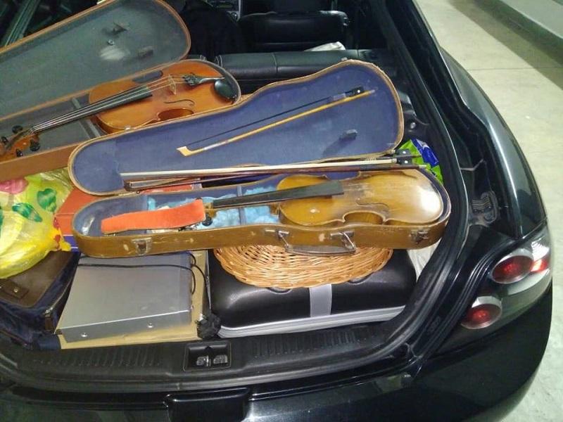 Из Украины пытались вывезти две старинные сккрипки