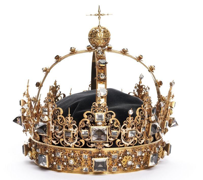 Погребальная корона короля Швеции Карла IX из династии Васа (1550-1611)
