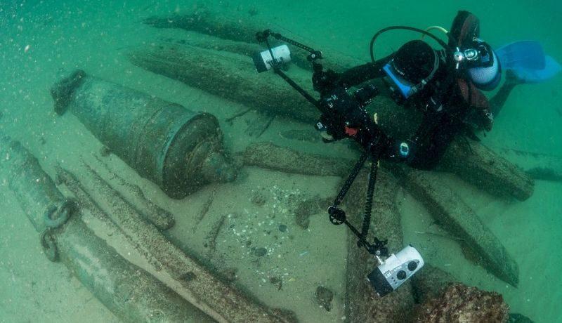 Возле Лиссабона нашли затонувший 400-летний корабль