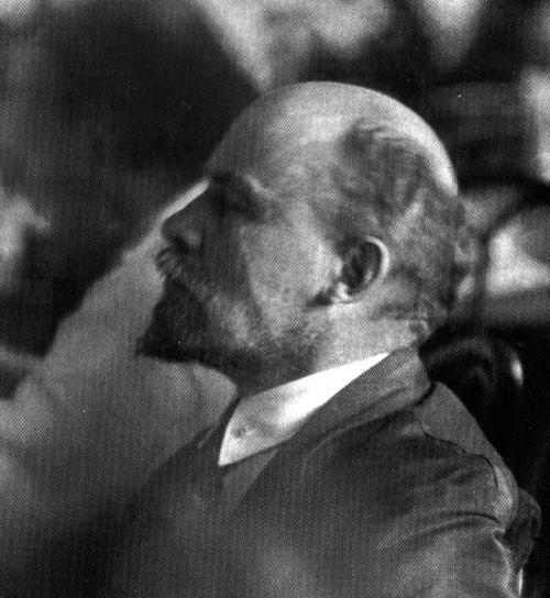 Фотография Ленина работы Виктора Булла на II Конгрессе Коминтерна в Москве в летом 1920 года
