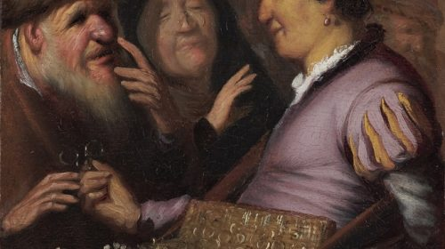 BRILLENVERKOPER 1624, Rembrandt