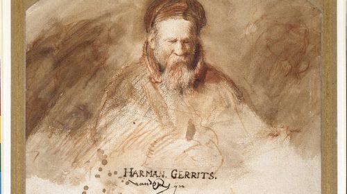PORTET VAN EEN OUDE MAN (REMBRANDTS VADER) 1625-1630, Rembrandt