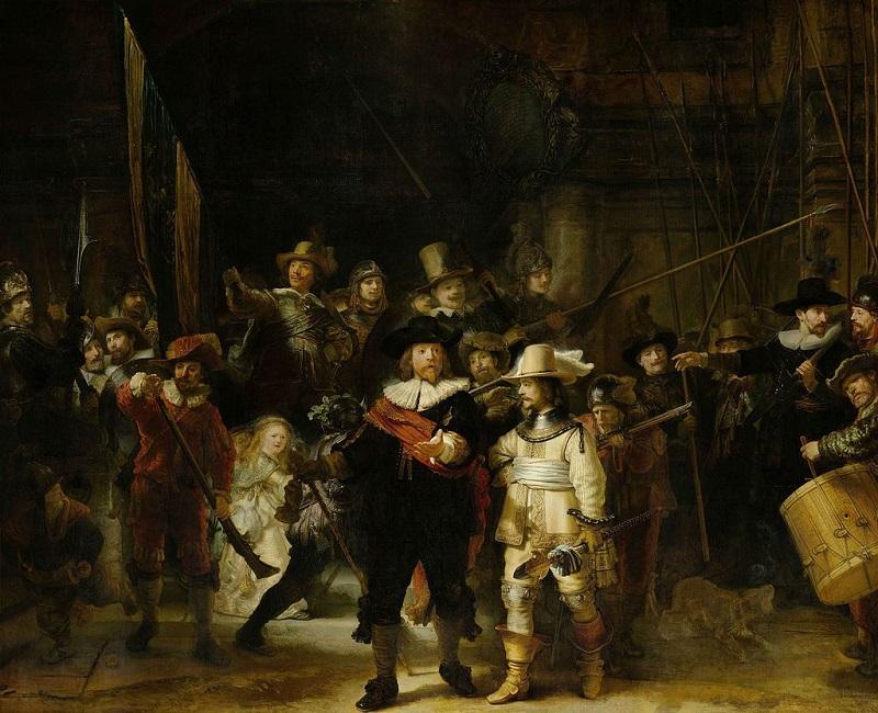 Рембрандт «Ночной дозор» 1642