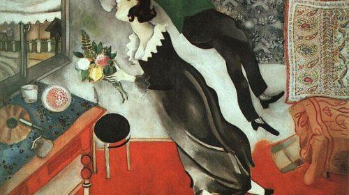 "Марк Шагал It's at a kitchen- ""На кухне"" 1915"