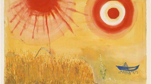 """Марк Шагал Wheanfild is on the sun - """"Кровавое солнце"""""""