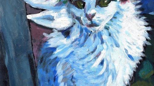 "Марк Шагал It's a Cat -""Кот"""