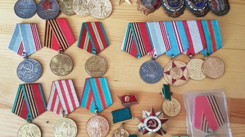 Комплект наград на героя СССР