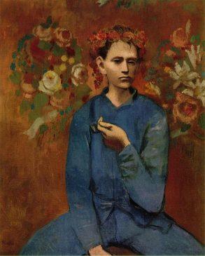 """""""Мальчик с трубкой"""" (Garçon à la pipe), Пабло Пикассо,1905 год"""