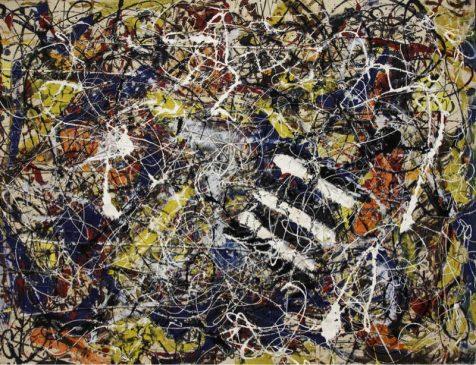"""""""Номер 17А"""" (Number 17A), Джексон Поллок (1912—1956), 1948 года"""