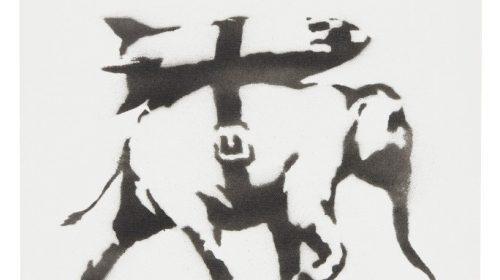 Картина художника Бэнкси