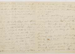 За предсмертное письмо Бодлера на аукционе заплатили 234 тысячи евро