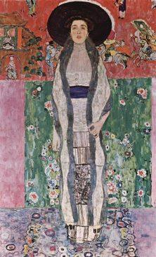 «Портрет Адели Блох-Бауэр I»(Portrait of Adele Bloch-Bauer II), 1907, Густав Климт