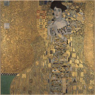 «Портрет Адели Блох-Бауэр I» (Portrait of Adele Bloch-Bauer I)1907, Густав Климт
