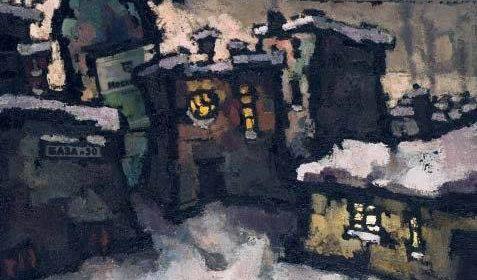 Оскар Рабин (1928-2018), База № 50, 1962