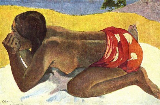«Otahi» («Oдинокая»), 1893, Поль Гоген