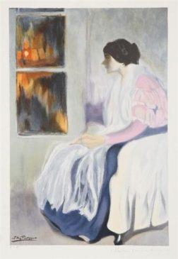 «Сестра художника» (La Soeur de LArtiste) Пабло Пикассо1899 года