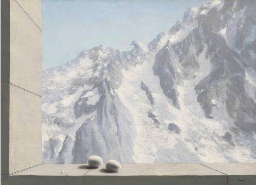 """Поместье Арнгейм"" (Le domaine d'Arnheim), Рене Магритт (1898-1967), 1938 год"