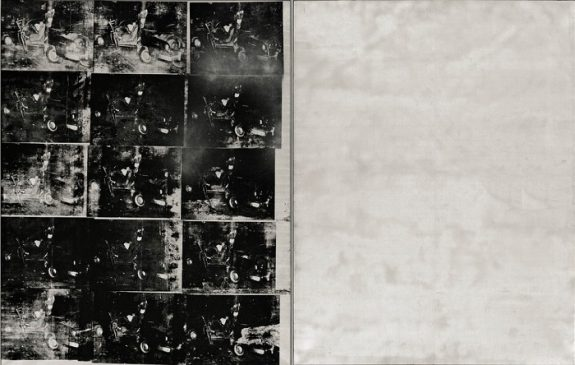 """Серебряная автокатастрофа» (Silver Car Crash - Double Disaster), 1963, Энди Уорхол (1928-1987)"