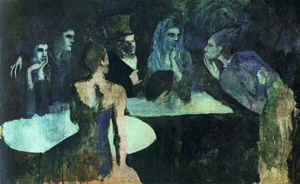 "Пабло Пикассо (1881-1973) ""Свадьба Пьеретты"" (Les Noces de Pierrette), 1905 год"