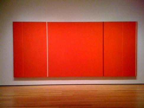 """Свет Анны» (Anna's Light), 1968, Барнетт Ньюман (1905-1970)"