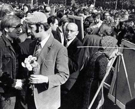 Художественная выставка в Измайловском парке 29 сентября 1974 года