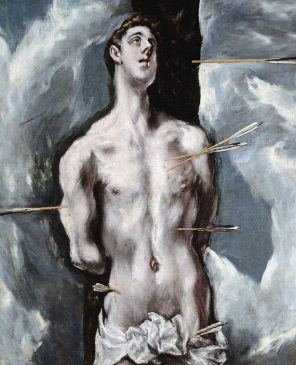 """""""Святой Себастьян» (St Sebastien)Эль Греко (1541-1614), 1610 - 1614 года"""