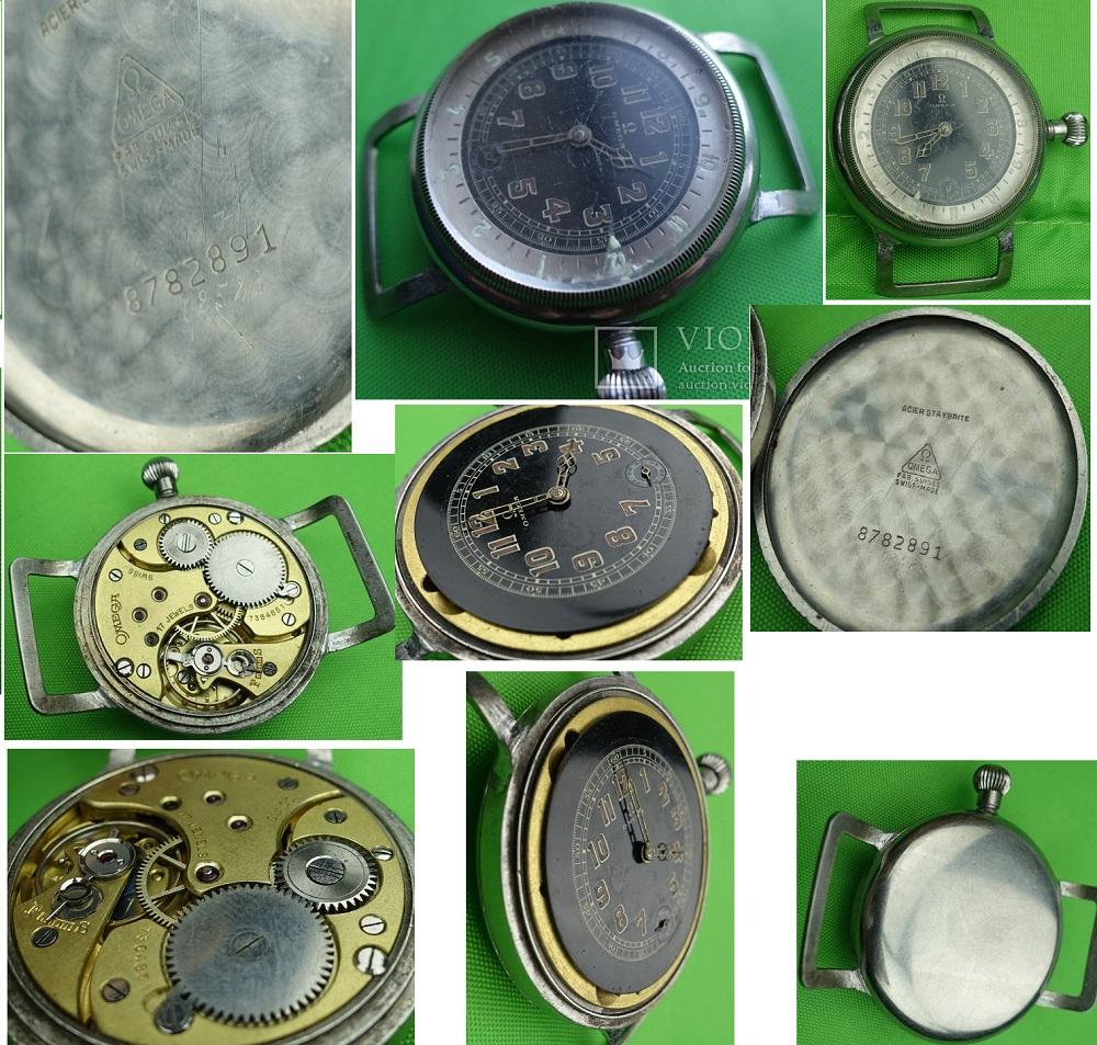 Наручные авиационные часы Omega aviator CK 6000