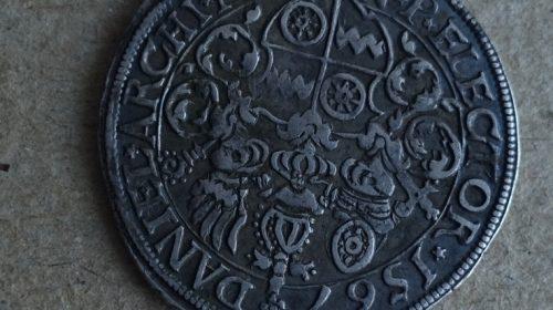 Четверть талера 1567 года архиепископства Майнц
