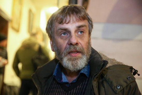 Украинский галерист, антиквар Леонид Комский