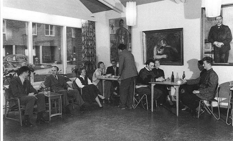 Часть картин из коллекции Стенерсена<br /> с 1952 по 1973 год украшала стены студенческом городке Согн