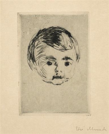 """Эдвард Мунк (1863-1944) """"Оге Кристиан Гирлёфф"""" (Åge Christian Gierløff)1916"""