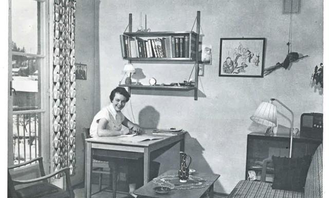 Часть картин из коллекции Стенерсена с 1952 по 1973 год украшала стены студенческом городке Согн