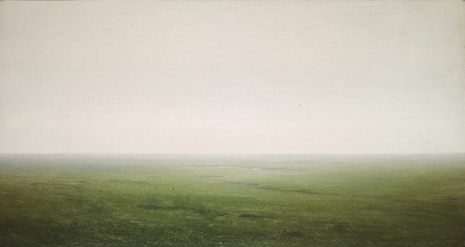 """Архип Куинджи (1842-1910) """"Пейзаж. Степь"""", 1890-1895"""
