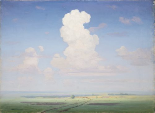 "Архип Куинджи (1842-1910) ""Облако над степью"", 1890-е"